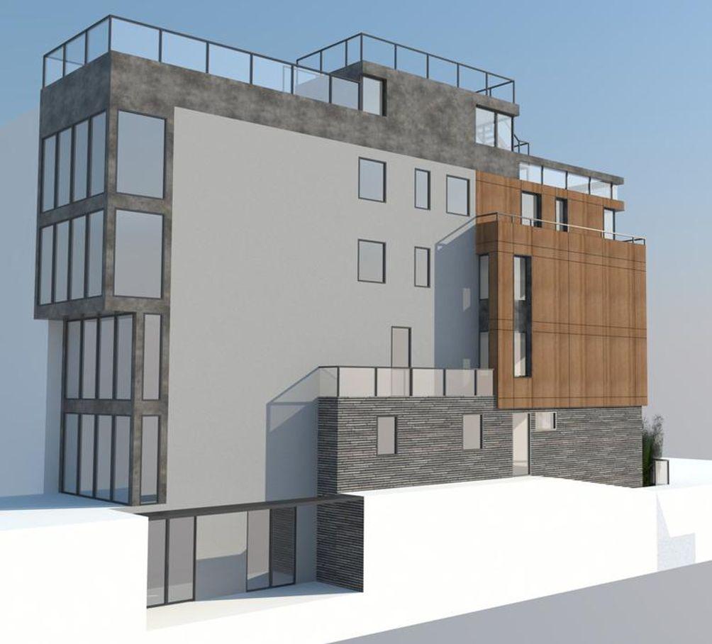 130 Carroll Street rendering