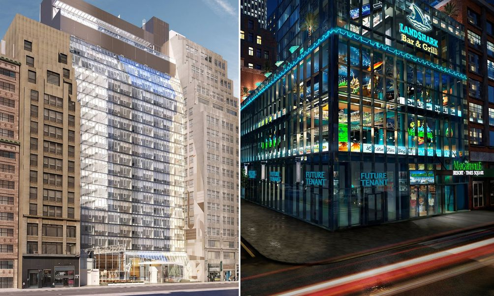 ac hotel debuts in times square margaritaville set to open down the
