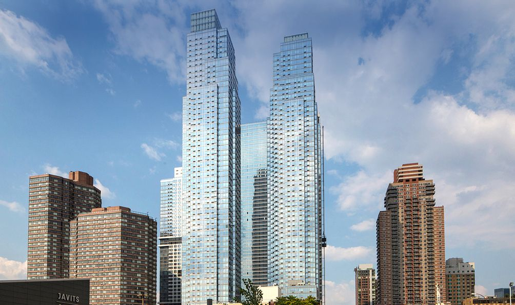 Silver Towers, 620 West 42nd Street