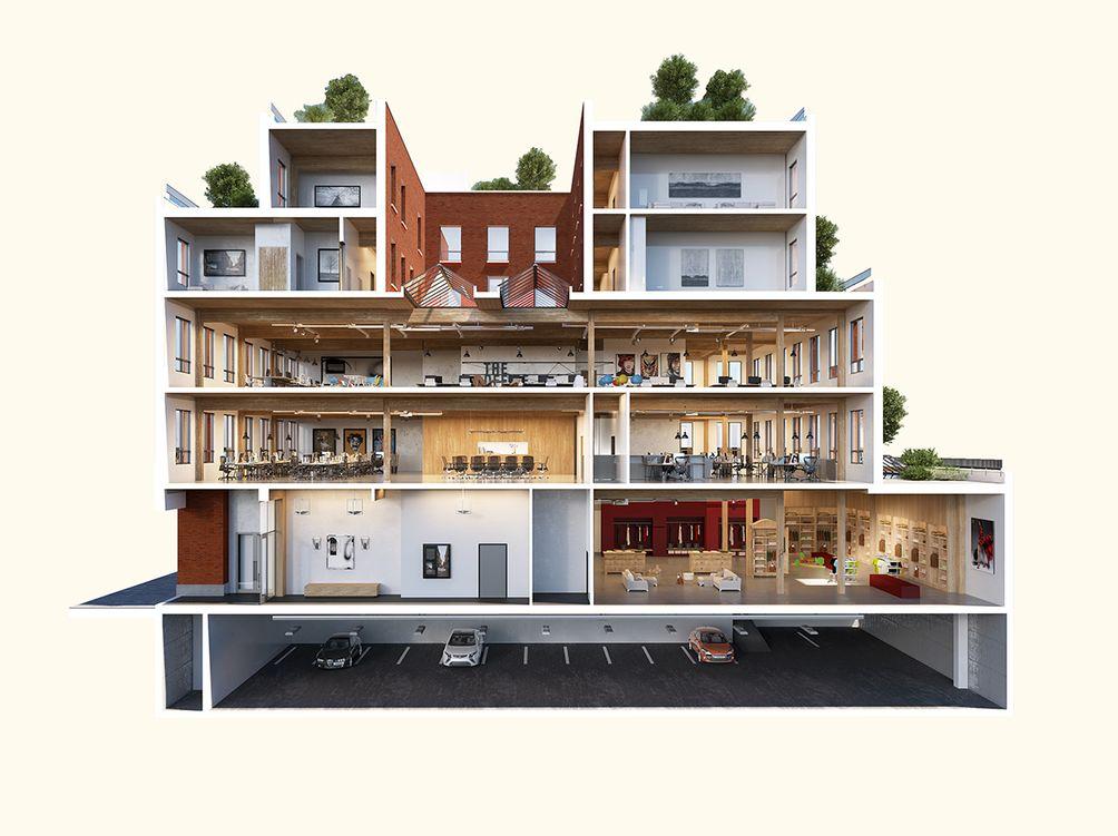 360 Wythe Avenue rendering