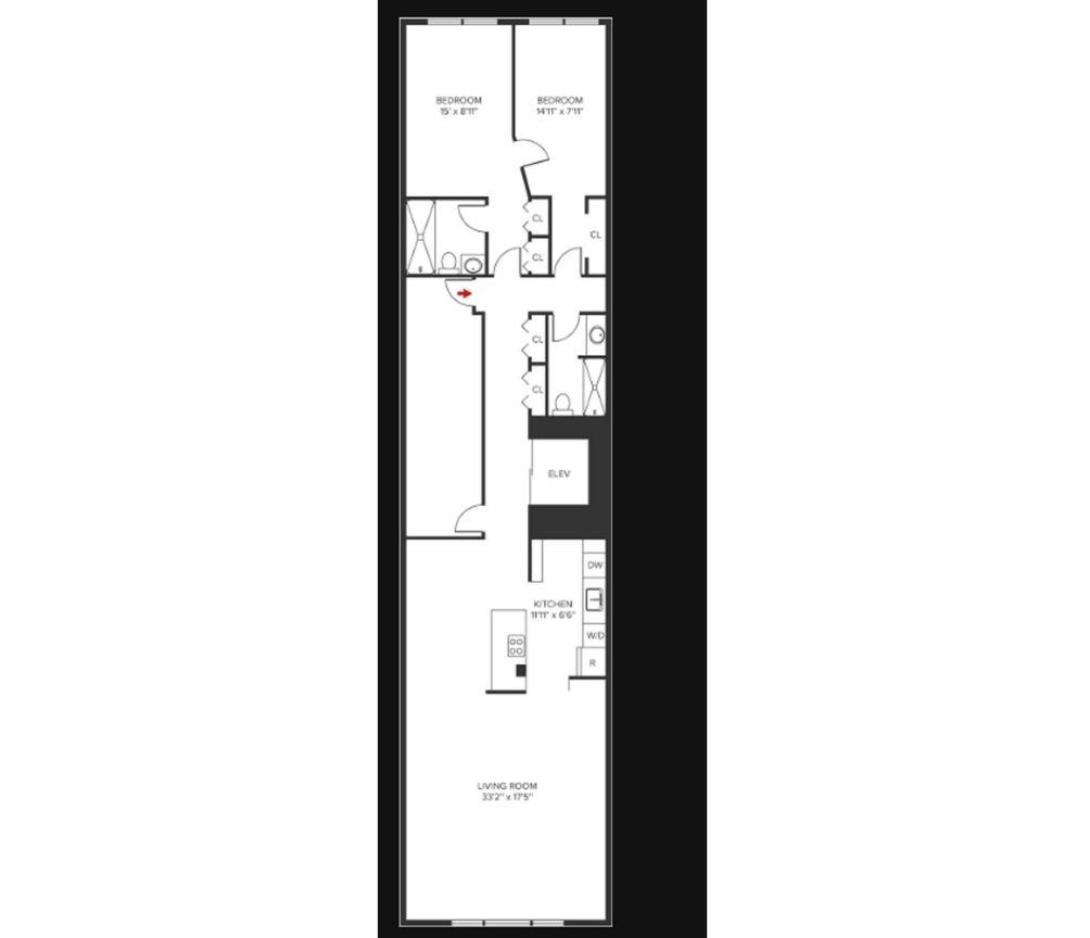 229 East 24th Street #7 floor plan