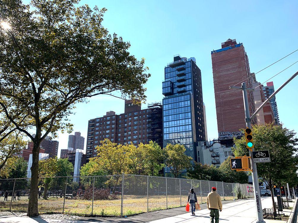 East Harlem skyscrapers