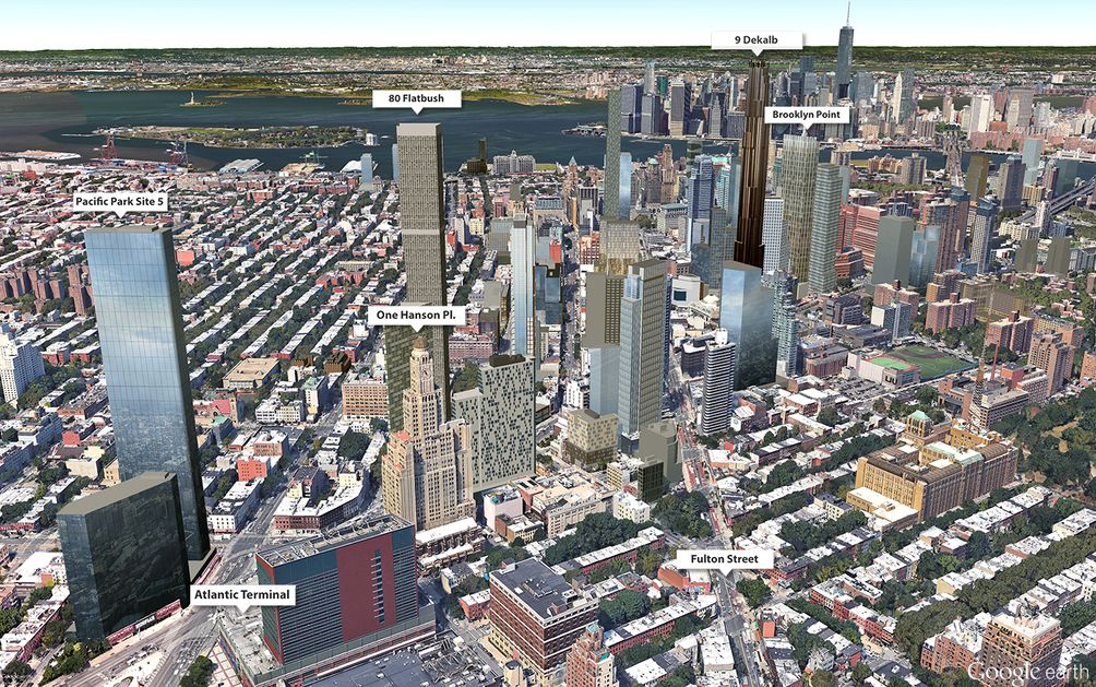 Downtown Brooklyn Skyline