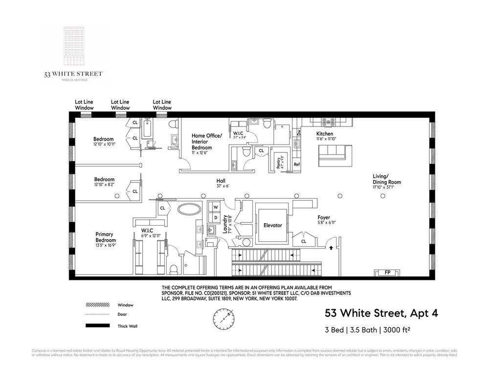 53 White Street - Tribeca luxury condo