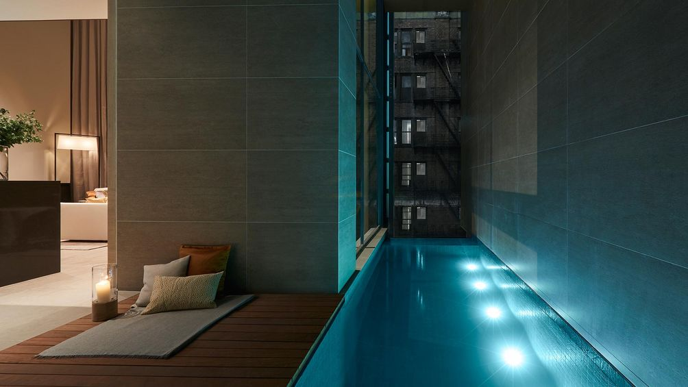 heated pools, chelsea pools, soori high line interiors, scda architects, soo k chan