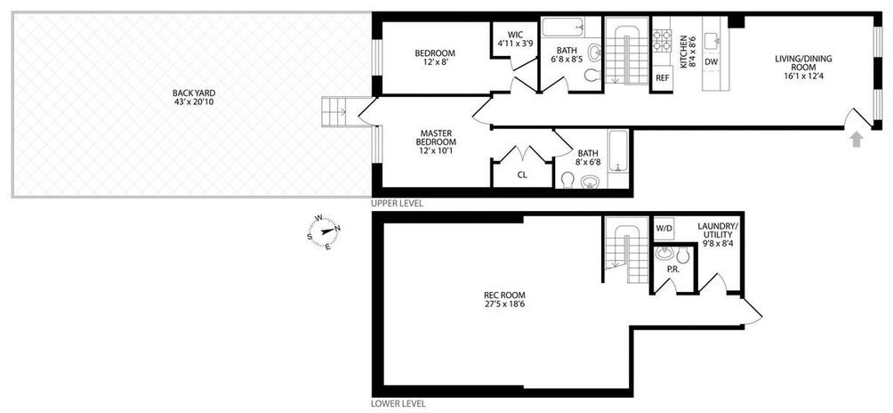 96 4th Street #1 floor plan