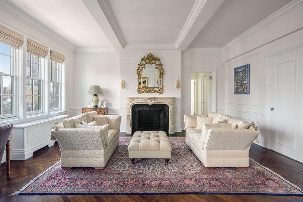 1060 Park Avenue interiors