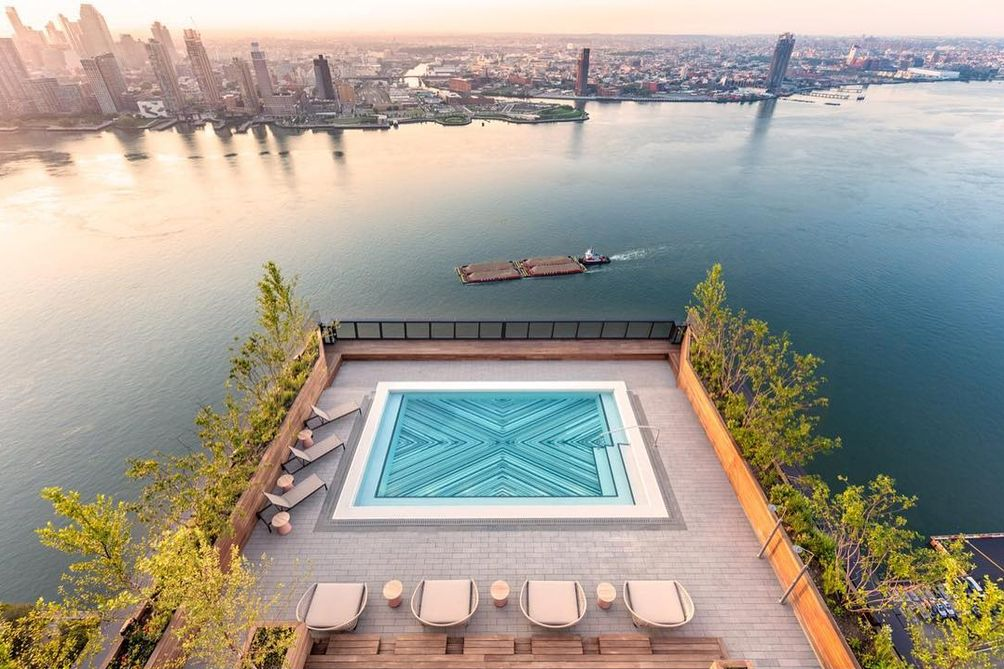 top 10 coolest rental rooftop pools in nyc cityrealty