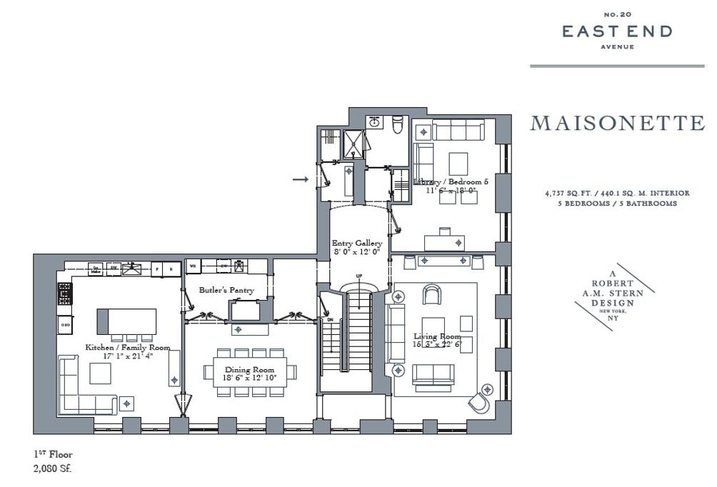20 east end maisonette floor plan