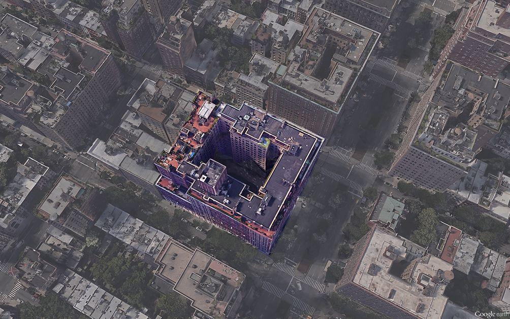 1185 Park Avenue aerial