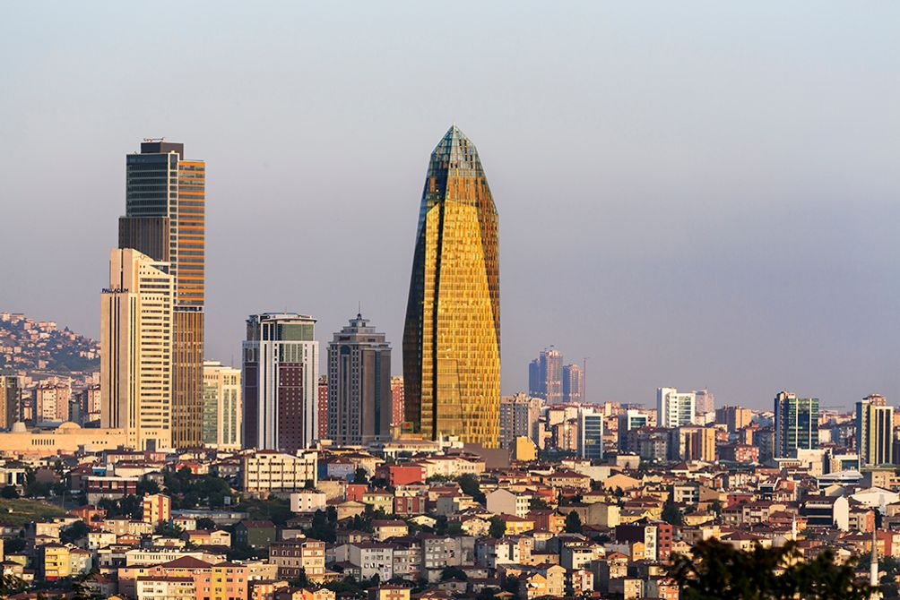 FXCollaborative's Allianz Tower in Istanbul