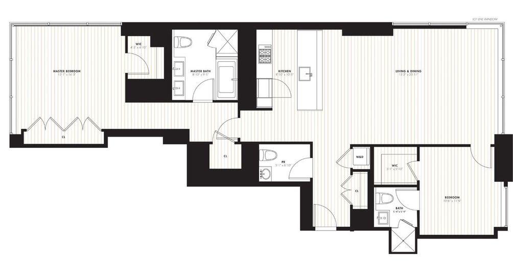 172 Madison Avenue #7A floor plan