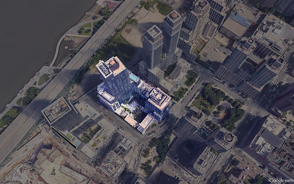 60 riverside boulevard aerial nyc