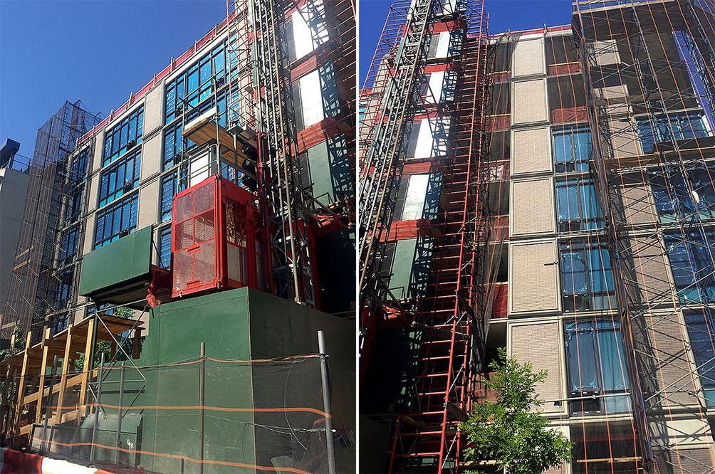 GKV Architects, composite facade, Orange Management