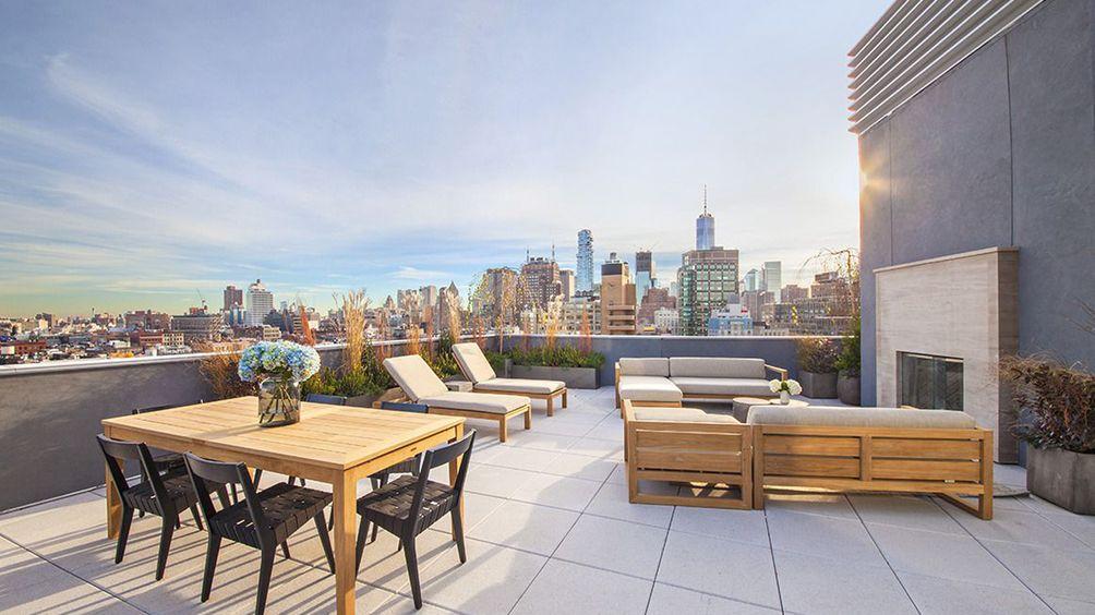 one vandam, 180 avenue of americas, bksk architects, soho condos, quinlan development group, studio db, triplex penthouses