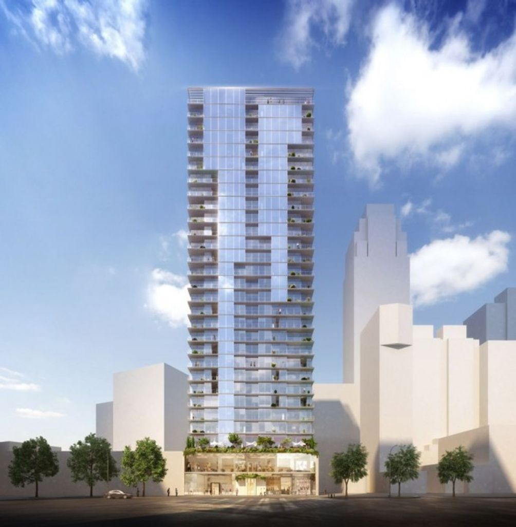 Plaza Square Apartments: ODA's Downtown Brooklyn High-Rise At 436 Albee Square Tops