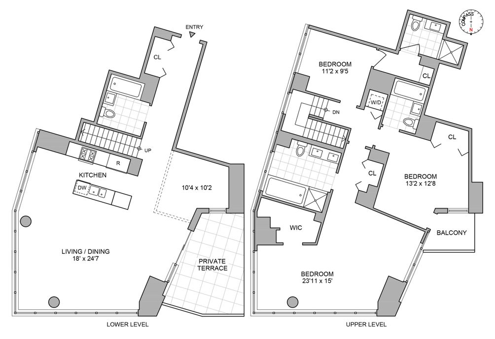 46-30 Center Boulevard #PH5 floor plan