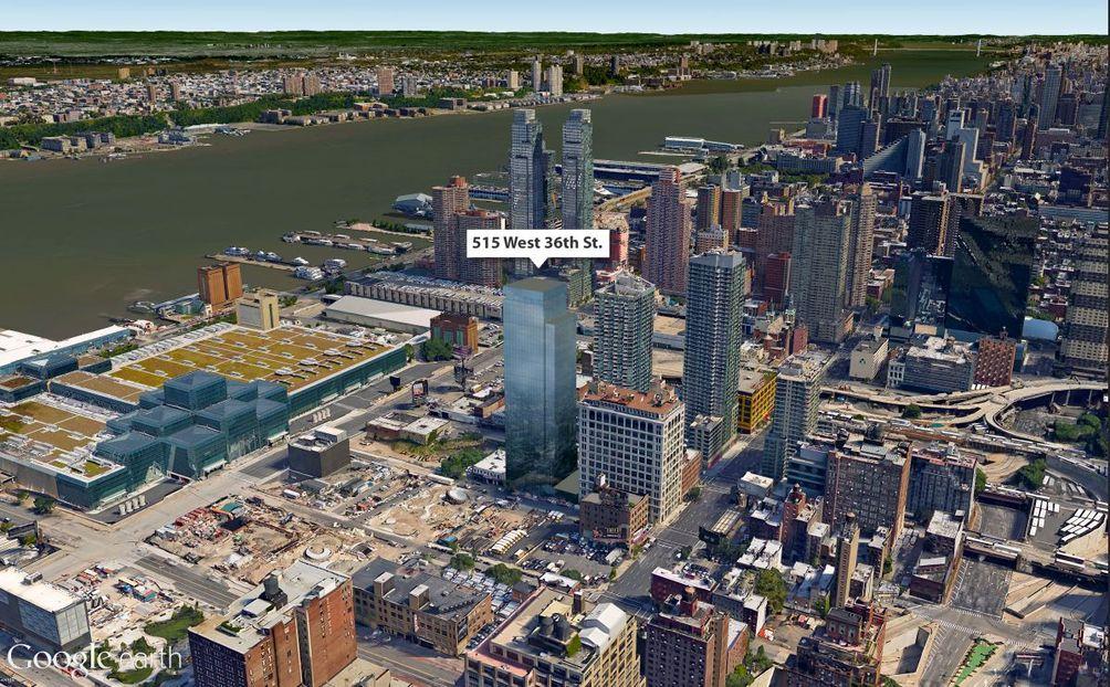 Manhattan towers, New York real estate, 515 West 36th Street, Ismael Leyva Architects, Lalezarian, New York rentals