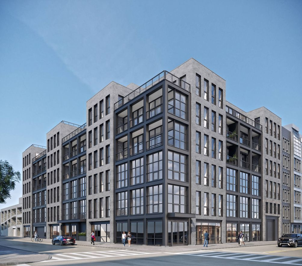 215 North 10th street color rendering