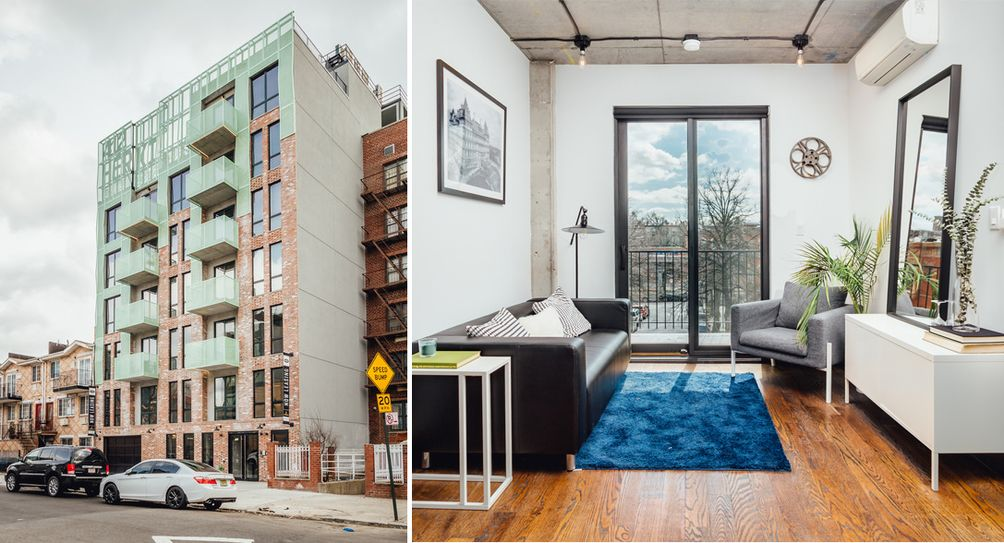 412 Herkimer Street Launches Leasing Balconied Bed Stuy