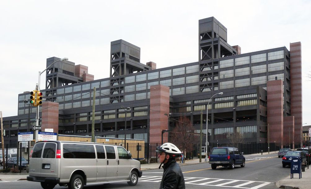 Woodhull Medical Center in Brooklyn