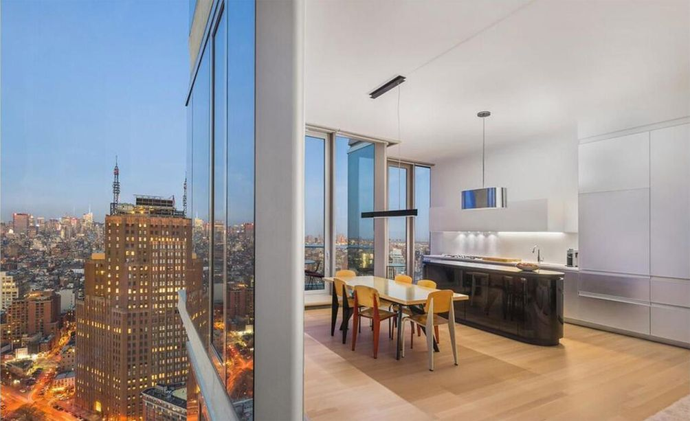 56 Leonard Street interiors and views