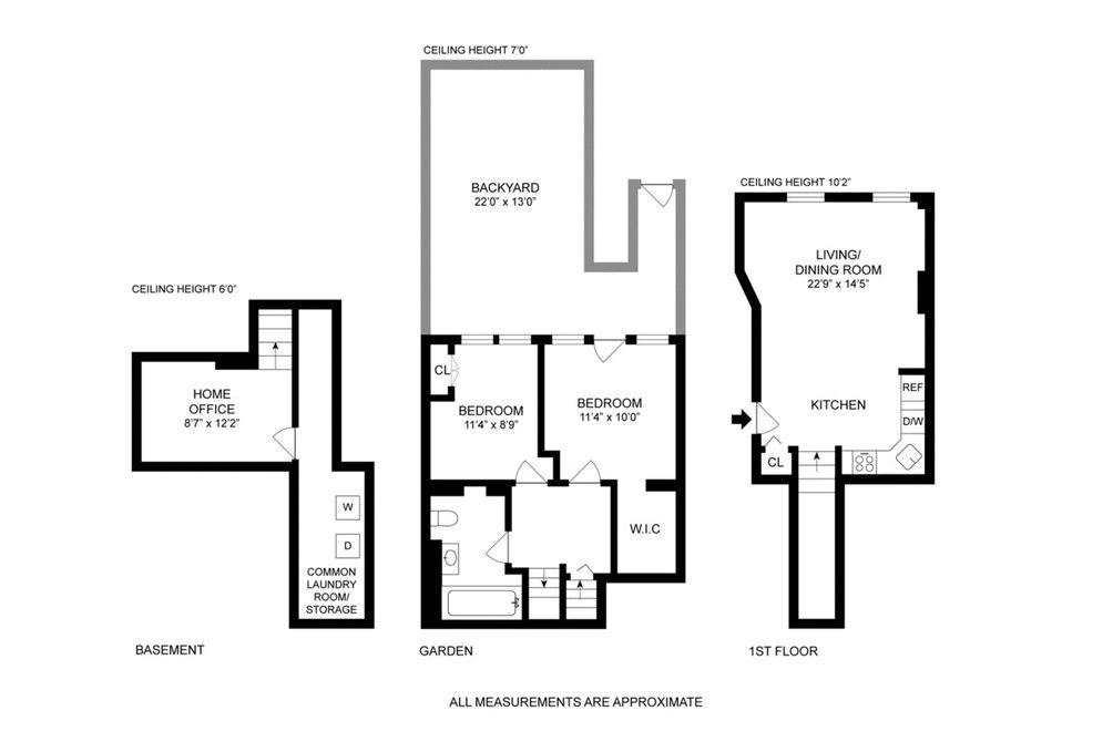 28 Park Place #1 floor plan