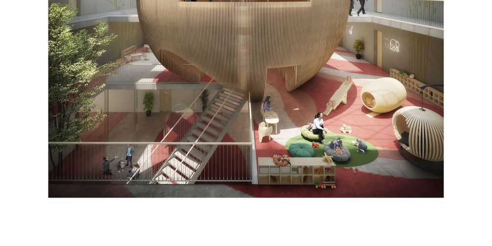 Beth Rivka School, 470 Lefferts Avenue, ODA Architecture