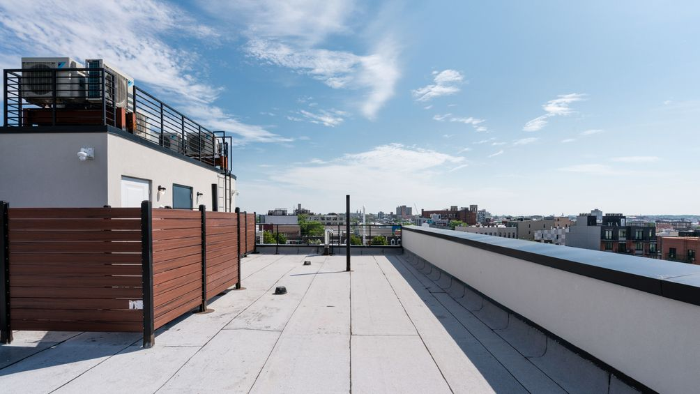Rooftop at 1009 Willoughby Avenue in Brooklyn