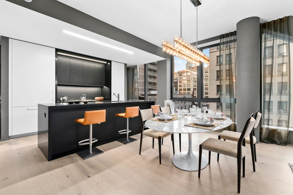 Kitchen, 121 East 22nd Street, OMA New York, Shohei Shigematsu, Rem Koolhaas, Toll Brothers, Gemdale