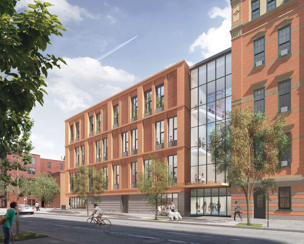 Planned addition for Village Community School in the West Village