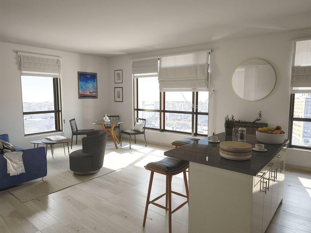 280 Ashland Place interiors