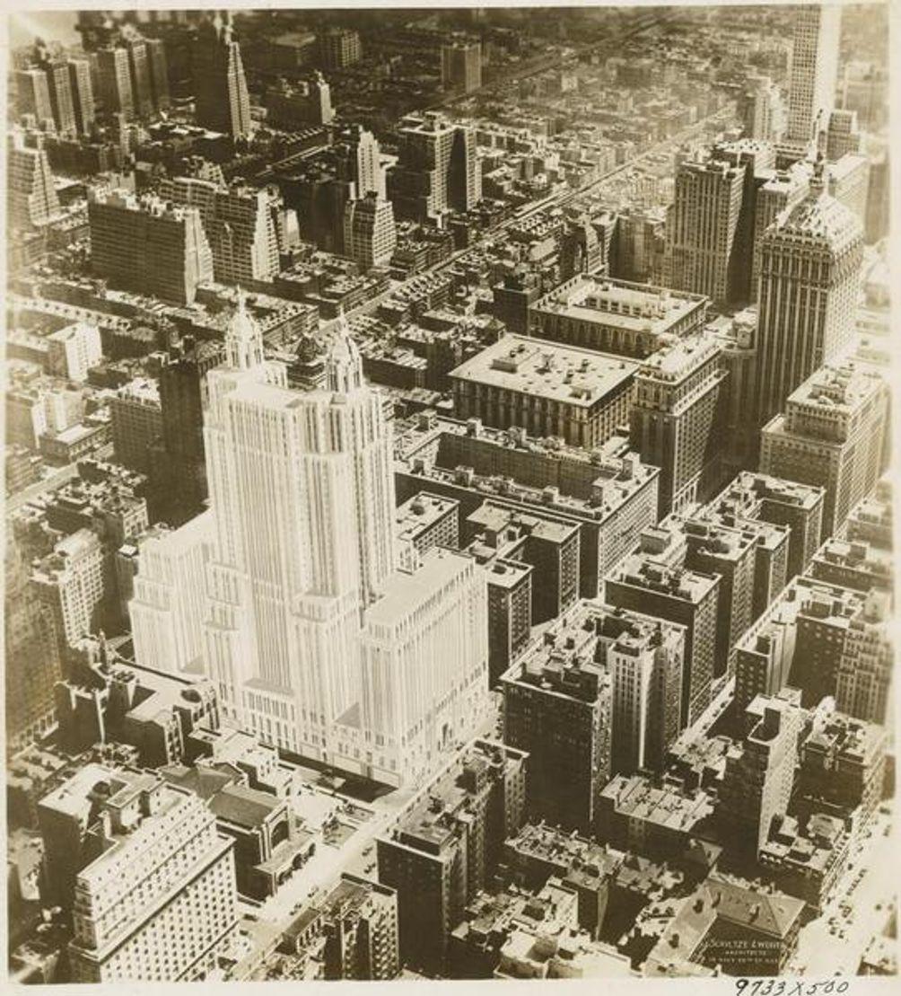 Waldorf-Astoria Hotel, NYPL