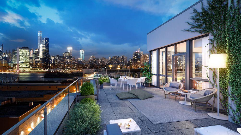 Brooklyn condos, Karl Fischer Architect, Greenpoint apartments, 50 Greenpoint Avenue, Brooklyn development