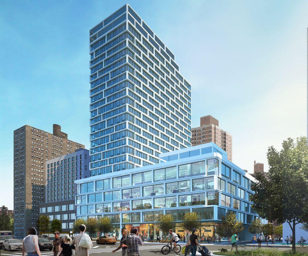 180 Broome Street rendering