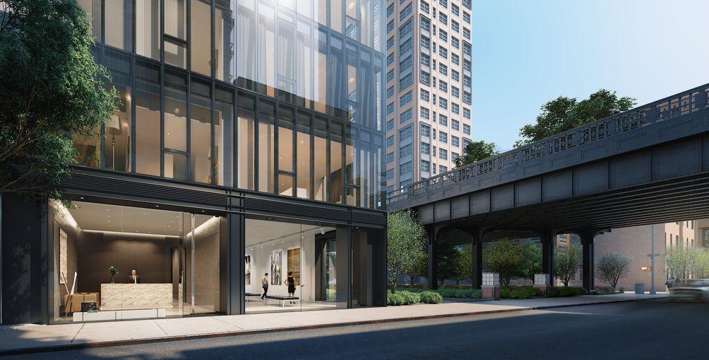 515 West 29th Street exterior rendering