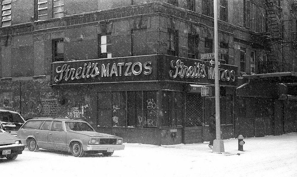 Streit's original Matzo Factory lower east side