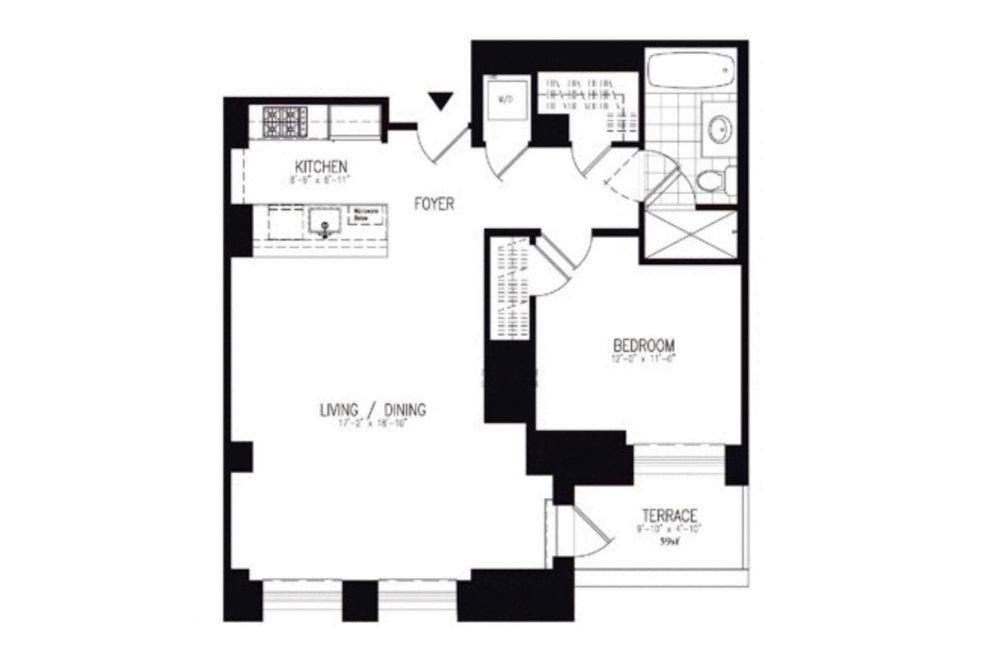One Hanson floorplan