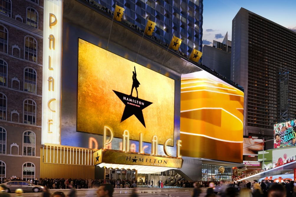 New Renderings Of Times Square S 2 Billion Palace Theater