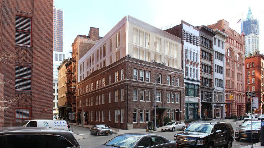 50 Hudson Street Rendering