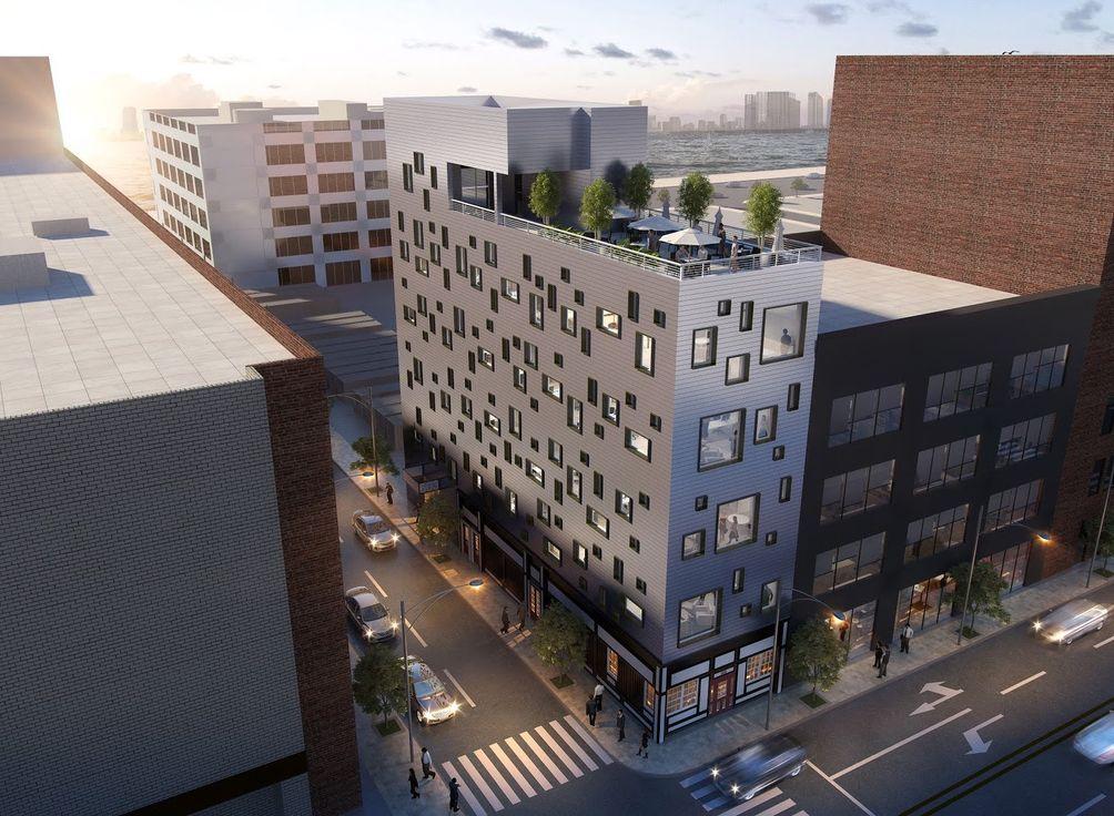 589 Eleventh Avenue renderings