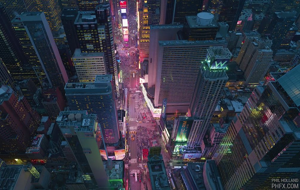 NYC Drone footage