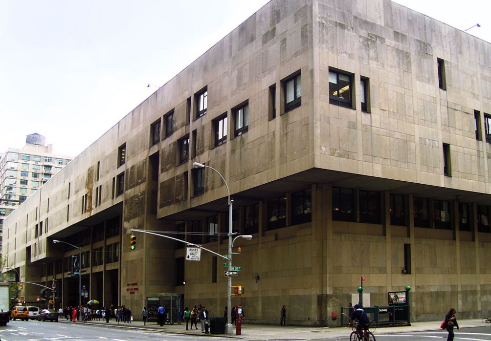 Fashion Institute of Technology on Seventh Avenue between 26th and 28th Streets