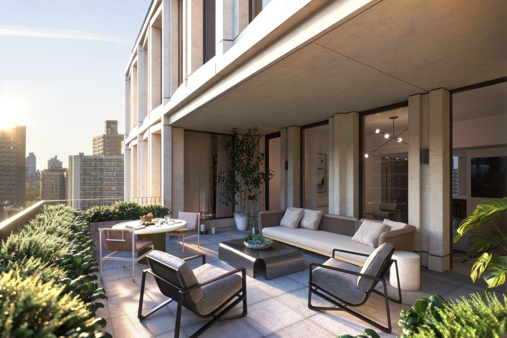 212 West 93rd Street terrace
