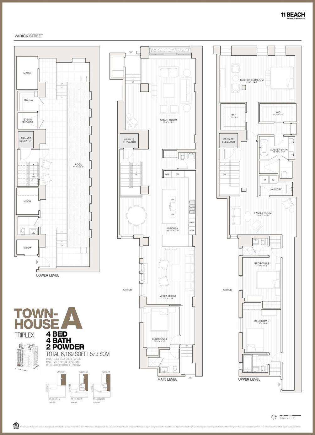 11 Beach Street #THA floor plan