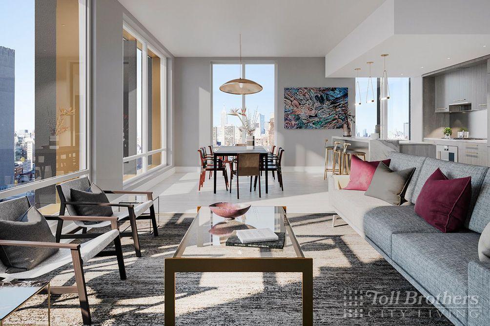 91 Leonard Street interiors
