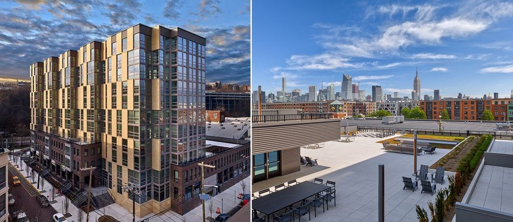 skyline views from hoboken new rental the vine now offering one