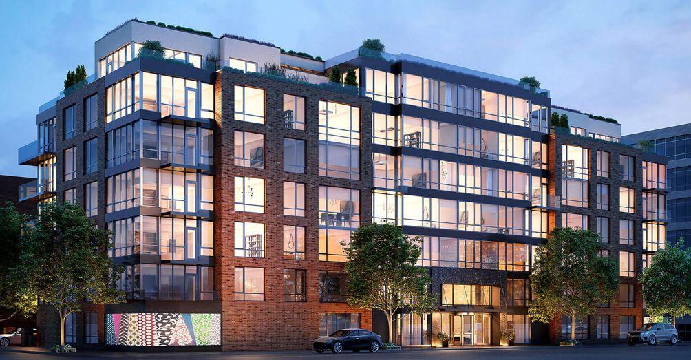 Brooklyn waterfront, Greenpoint condos,Karl Fischer Architect