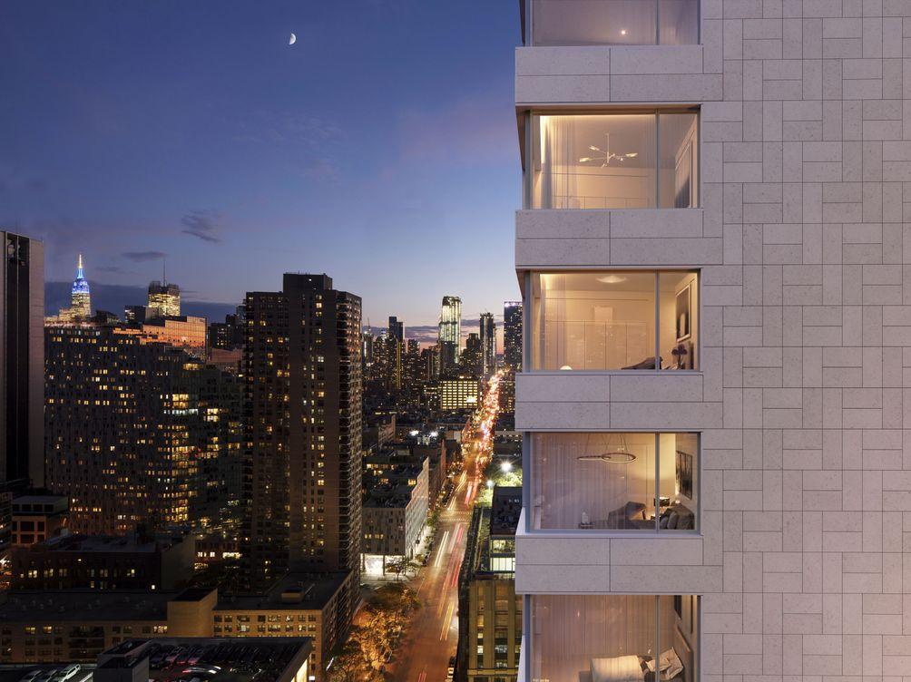 611 West 56th Street, ??lvaro Leite Siza, Alvaro Siza, SLCE, M18, LENY Equities, Sumaida + Khurana, condo