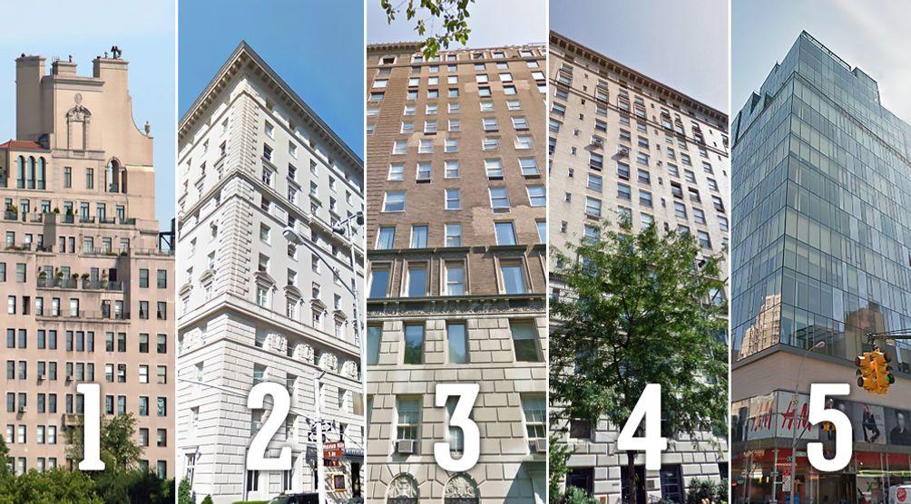 Top Five Condos Carnegie Hill